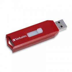 Verbatim / Smartdisk - 96317 - Verbatim 16GB Store 'n' Go USB Flash Drive - Red - 16 GB - USB - Red - 1 Pack - Red