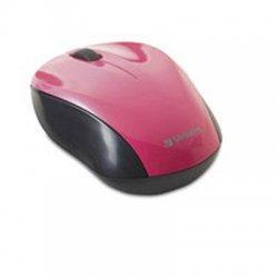 Verbatim / Smartdisk - 97667 - Verbatim Wireless Nano Notebook Optical Mouse - Pink - Optical - Wireless - Pink