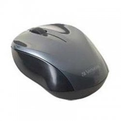 Verbatim / Smartdisk - 97670 - Verbatim Wireless Nano Notebook Optical Mouse - Graphite - Optical - Wireless - Radio Frequency - Graphite - USB - 1000 dpi - Computer - Scroll Wheel - 2 Button(s) - Symmetrical