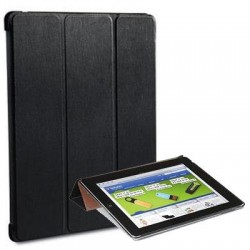 Verbatim / Smartdisk - 98242 - Verbatim Folio Flex Case for iPad (2,3,4) - Graphite - Scratch Resistant Interior, Smudge Resistant Interior