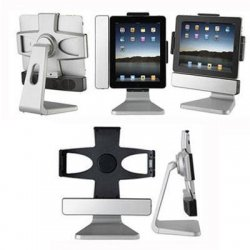 SMK-Link - VP3650VER2 - PADDOCK 10 VER2 STAND DOCK FOR IPAD 3RD GENERATION AND IPAD2 WITH SPEAKERS - USB