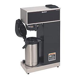 Bunn-O-Matic - 33200.0014 - VPR-APS Pourover Thermal Coffee Brewer with 2.2L Airpot, Stainless Steel, Black