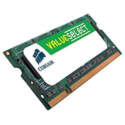 Corsair - VS1GSDS533D2 - Corsair Value Select 1GB DDR2 SDRAM Memory Module - 1GB (1 x 1GB) - 533MHz DDR2-533/PC2-4200 - Non-ECC - DDR2 SDRAM - 200-pin