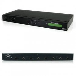 StarTech - VS440HDMI - StarTech.com 4x4 HDMI Matrix Video Switch Splitter with Audio and RS232 - 4 x HDMI Digital Audio/Video In