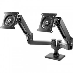 Hewlett Packard (HP) - W3Z74UT - HP Mounting Arm for Monitor - 32 Screen Support - 40 lb Load Capacity - Black
