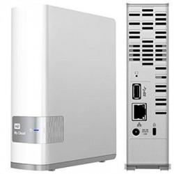 Western Digital - WDBCTL0040HWT-NESN - WD My Cloud Personal Cloud Storage - Dual-core (2 Core) - 1 x Total Bays - 4 TB HDD (1 x 4 TB) - Gigabit Ethernet - Network (RJ-45) - - UPnP - Desktop