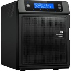 Western Digital - WDBLGT0040KBK-NESN - WD WD Sentinel DX4000 WDBLGT0040KBK-NESN Small Office Network Storage Server - Intel Atom D525 1.80 GHz - 4 TB HDD - 2 GB RAM - RAID Supported
