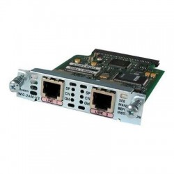Cisco - WIC-2AM-V2-RF - Cisco Analog Modem WAN Interface Card - 2 x Serial V.92