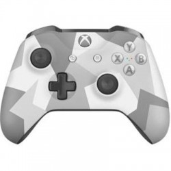 Microsoft - WL3-00043 - Microsoft Xbox Wireless Controller - Winter Forces Special Edition - Wireless - Bluetooth - Xbox One, PC - Force Feedback - Arctic Camouflage