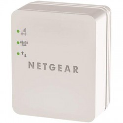Netgear - WN1000RP-100NAS - Netgear WN1000RP IEEE 802.11n 54 Mbit/s Wireless Range Extender - ISM Band - Wall Mountable