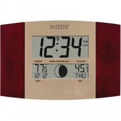 La Crosse Technologies - WS-8117U-IT-C - Atomic Clock Wrlss Thermometer