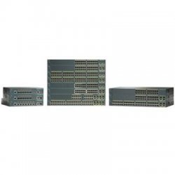 Cisco - WS-C2960-24-S-RF - Cisco Catalyst 2960-24-S Managed Ethernet Switch - 24 x 10/100Base-TX