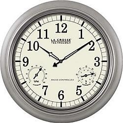 La Crosse Technologies - WT-3181PL - LC 18 Atomic Outdoor Clock