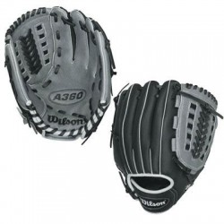 Wilson Sports - WTA03RB15115 - Wilson A360 Gaming Glove - Pigskin Leather Palm, Pigskin Leather Web - Durable - For Baseball