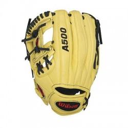 Wilson Sports - WTA05LB1611 - Wilson A500 1786 Infield Baseball Glove - 11 - H-Web - Top Grain Leather Shell - Dual Welting, Lightweight - For Baseball