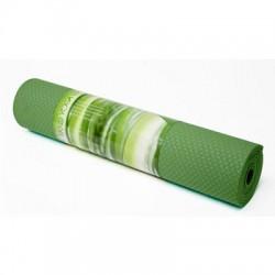 Trimax Sports - WTE10443SG - PurEarth Ekko Yoga Mat 6mm - Yoga - 72 Length x 24 Width x 0.24 Thickness - Thermoplastic Elastomer (TPE) - Sage