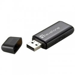 CP Tech / Level One - WUA-0605 - LevelOne WUA-0605 Wireless N Wi-Fi Adapter with WPS button - USB - 300 Mbit/s - 2.48 GHz ISM
