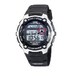 Casio - WV200A-1AV - Casio wave ceptor WV200A-1AV Wrist Watch - Men - SportsChronograph - Digital - Quartz - Atomic