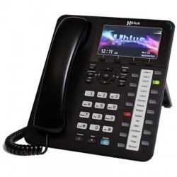 XBlue Networks - X4040 - XBlue X4040 IP Phone - Cable - VoIP - Caller ID - SpeakerphoneNetwork (RJ-45) - PoE Ports - Color