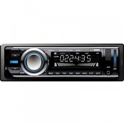 Ematic - XD103 - XO Vision XD103 Car Flash Audio Player - iPod/iPhone Compatible - Half DIN - LCD Display - MP3, WMA - AM, FM - 30 x AM/FM Preset - SD - USB - Auxiliary Input - Detachable Front Panel