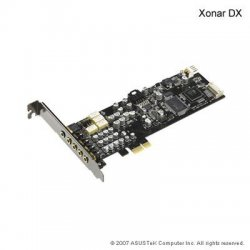 Asus - XONAR DX - ASUS Xonar DX 7.1 Channel PCI Express Sound Card - AV100 - PCI Express - 24 bit - Internal