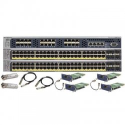 Netgear - XSM96PSKT-100NAS - Netgear 96-Port PoE L2+ Managed Switch Starter Kit