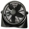 "Alera - FAN163 - 16"" Super-Circulation 3-Speed Tilt Fan, Plastic, Black"