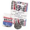Armaly Brands - 6275630 - Stainless Steel Scrubber, Medium, 3 1/2 x 1, Steel Gray, 12/Carton