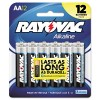 Spectrum Brands - 815-12C - Spectrum Brands Rayovac 815-12C Alkaline General Purpose Battery - Alkaline