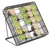Safco - 3276BL - Stand-up Hospitality Organizer, 25 Compartments, 8 1/4w x 11 1/2d x 10 1/2h, Bk