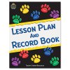 Teacher Created Resources - TCR2551 - Paw Prints Lesson Plan & Record Book With Monthly Planner, 160 Pages, 8-1/2 x 11