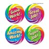 Teacher Created Resources - TCR4498 - Wear 'Em Badges, Good Work, 32/Pack