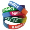 Teacher Created Resources - TCR6571 - Two-Toned Happy Birthday Wristbands, Assorted Colors, 10/Pack