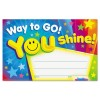 Trend Enterprises - T81047 - Awards and Certificates, Way to Go!, 5 1/2 x 8 1/2, Assorted