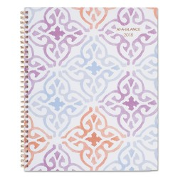 At-A-Glance - 1050905 - Cecilia Weekly/Monthly Planner, 8 1/2 x 11, Blue/Purple