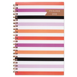 At-A-Glance - 1064200 - Parasol Weekly/Monthly Planner, 4 7/8 x 8, Assorted