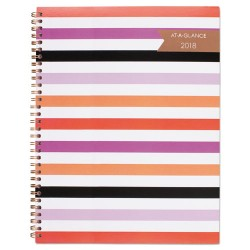 At-A-Glance - 1064905 - Parasol Weekly/Monthly Planner, 8 1/2 x 11, Assorted