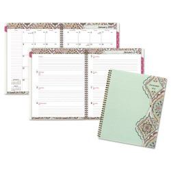 At-A-Glance - 182905 - Marrakesh Professional Weekly/Monthly Planner, 9 1/4 x 11 3/8, 2018