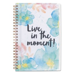 At-A-Glance - 187201 - B-Positive Desk Weekly/Monthly Planner, Live In The Moment, 5 3/8 x 8 1/8, 2018