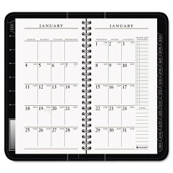 At-A-Glance - 70-020-05 - Executive Weekly/Monthly Appointment Book, 3 1/4 x 6 1/4, White, 2018