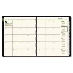 At-A-Glance - 702605014 - Monthly Planner, 8 7/8 x 11, Winestone, 2017-2018