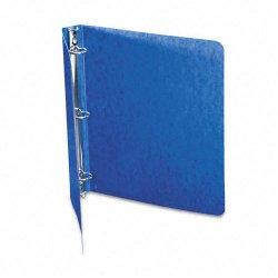 Acco Brands - A7038613 - Wilson Jones PRESSTEX Ring Binder - 1 Binder Capacity - 175 Sheet Capacity - 3 x Round Ring Fastener(s) - Presstex - Dark Blue - Recycled - 1 Each