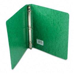 Acco Brands - A7038616 - Wilson Jones PRESSTEX Ring Binder - 1 Binder Capacity - 175 Sheet Capacity - 3 x Round Ring Fastener(s) - Presstex - Dark Green - Recycled - 1 Each