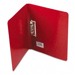 Acco Brands - A7042529 - Wilson Jones PRESSTEX Grip Binder - 5/8 Binder Capacity - 125 Sheet Capacity - Presstex - Executive Red - Recycled - 1 Pack