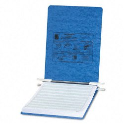 Acco Brands - A7054052 - ACCO PRESSTEX Covers with Storage Hooks, For Unburst Sheets, 8 1/2 x 11 Sheet Size - 6 Binder Capacity - Letter - 8 1/2 x 11 Sheet Size - Light Blue - Recycled - 1 / Each