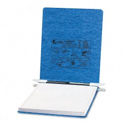 Acco Brands - A7054112 - ACCO PRESSTEX Covers w/ Hooks, Unburst, 9 1/2 x 11 Sheets, Light Blue - 6 Binder Capacity - 9 1/2 x 11 Sheet Size - Light Blue - Recycled - 1 / Each