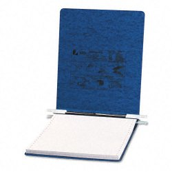Acco Brands - A7054113 - ACCO PRESSTEX Covers w/ Hooks, Unburst, 9 1/2 x 11 Sheets, Dark Blue - 6 Binder Capacity - 9 1/2 x 11 Sheet Size - Dark Blue - Recycled - 1 / Each