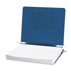 Acco Brands - A7054123 - ACCO PRESSTEX Covers w/ Hooks, Unburst 11 x 8 1/2 Sheets, Dark Blue - 6 Binder Capacity - Letter - 8 1/2 x 11 Sheet Size - Dark Blue - Recycled - 1 / Each