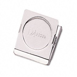 Acco Brands - A7072131 - ACCO Square Magnetic Clip, 1 1/2 Size, Small - Small - 1.5 Length - 0.88 Size Capacity - Magnetic, Rust Resistant - 1Each - Silver - Metal, Chrome
