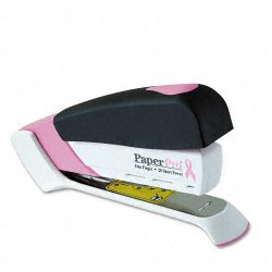 Accentra - 1188 - inCOURAGE 20 Desktop Stapler, 20-Sheet Capacity, Pink/White